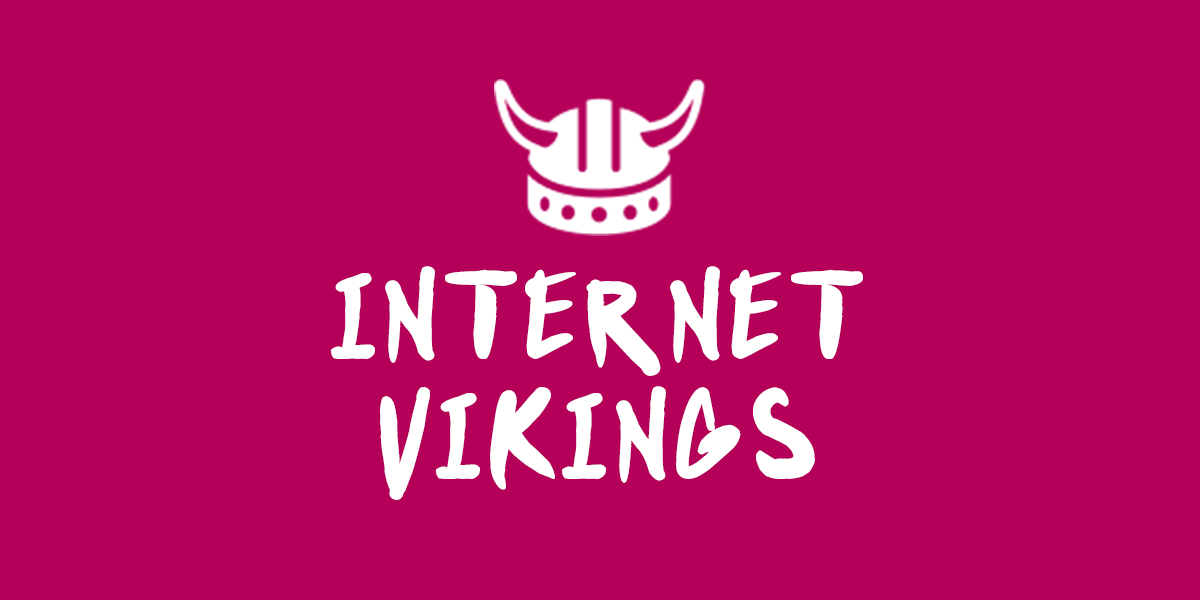 Banner for Internet Vikings